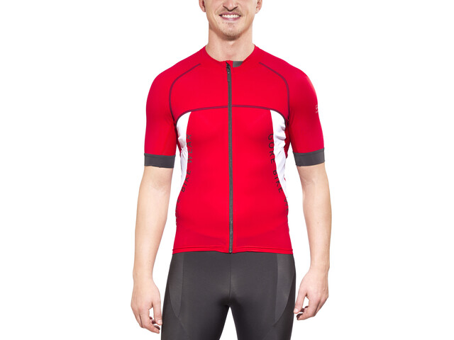 GORE BIKE WEAR Alp-X Pro Jersey Uomo, red/white